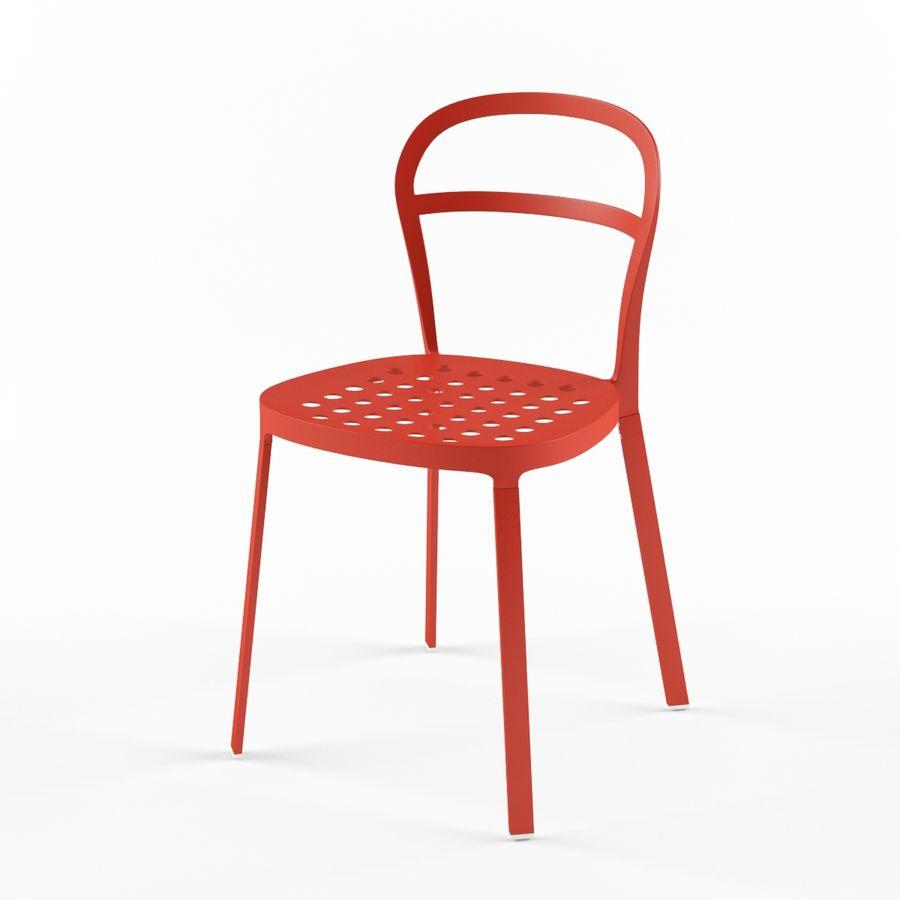 ikea reidar chair 3d model 15 fbx