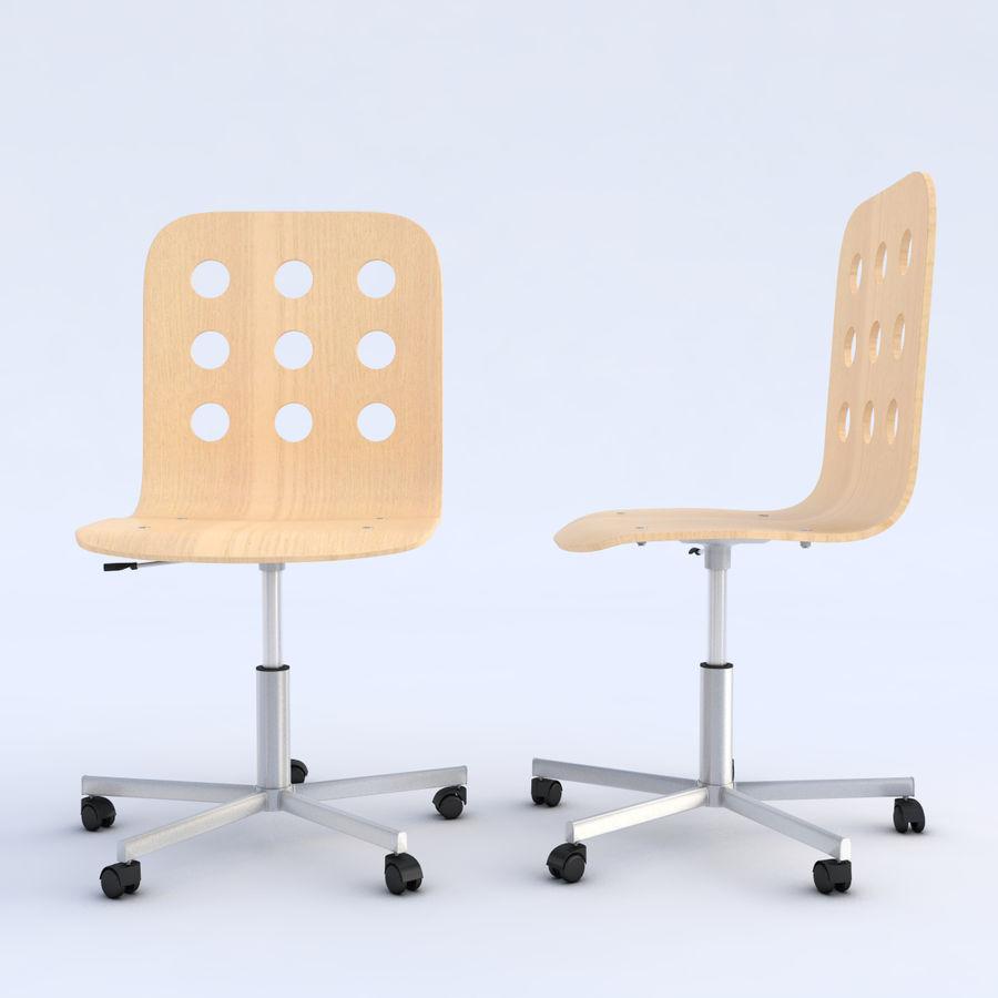 ikea jules chaise pivotante modele 3d