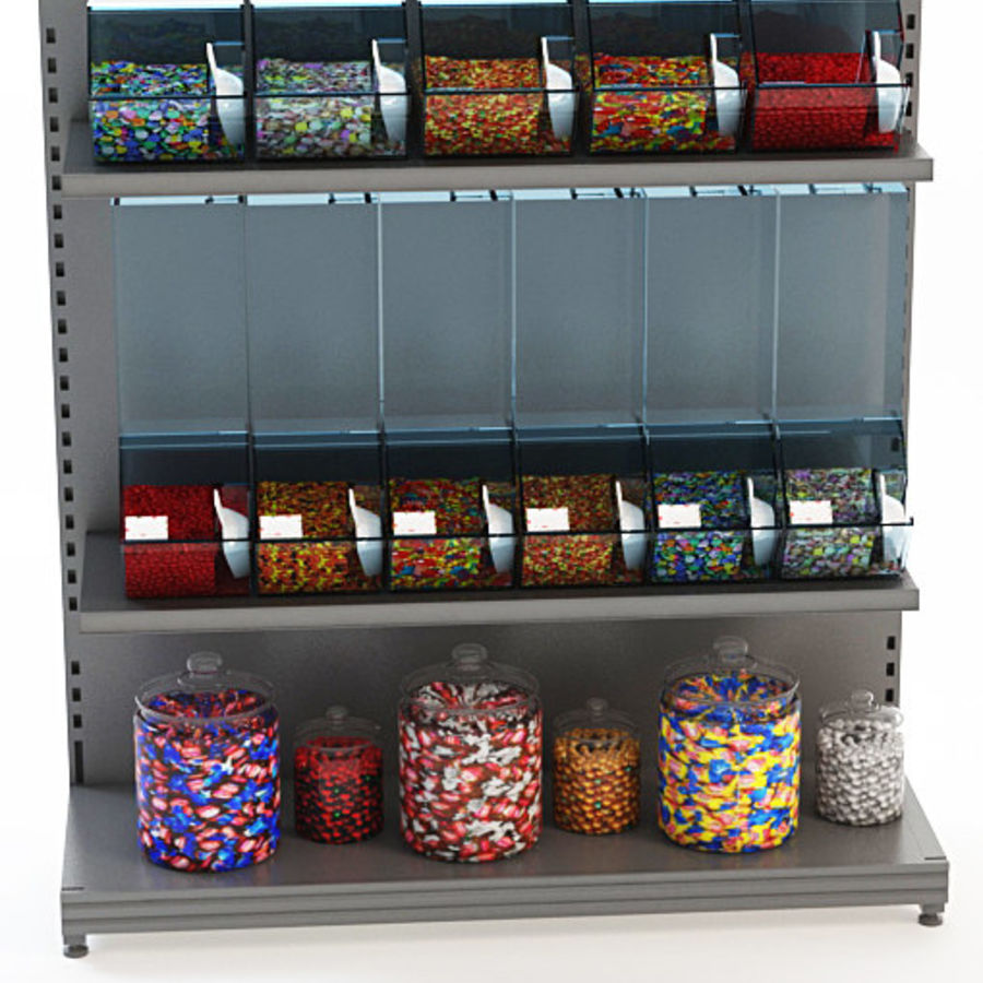 candy display retail store 3d model 40