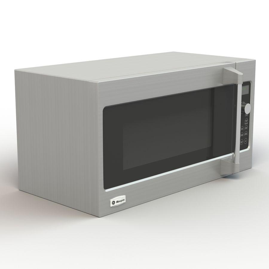 ge monogram microwave 3d model 20