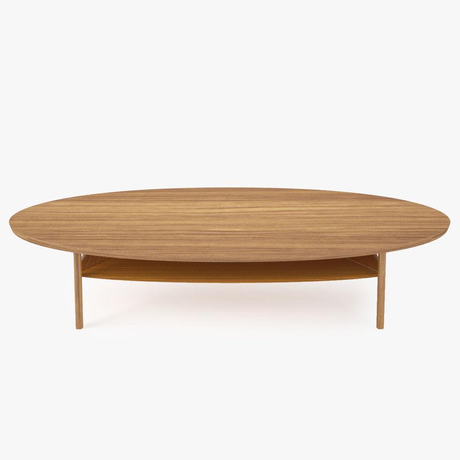 ikea stockholm coffee table 3d model 8