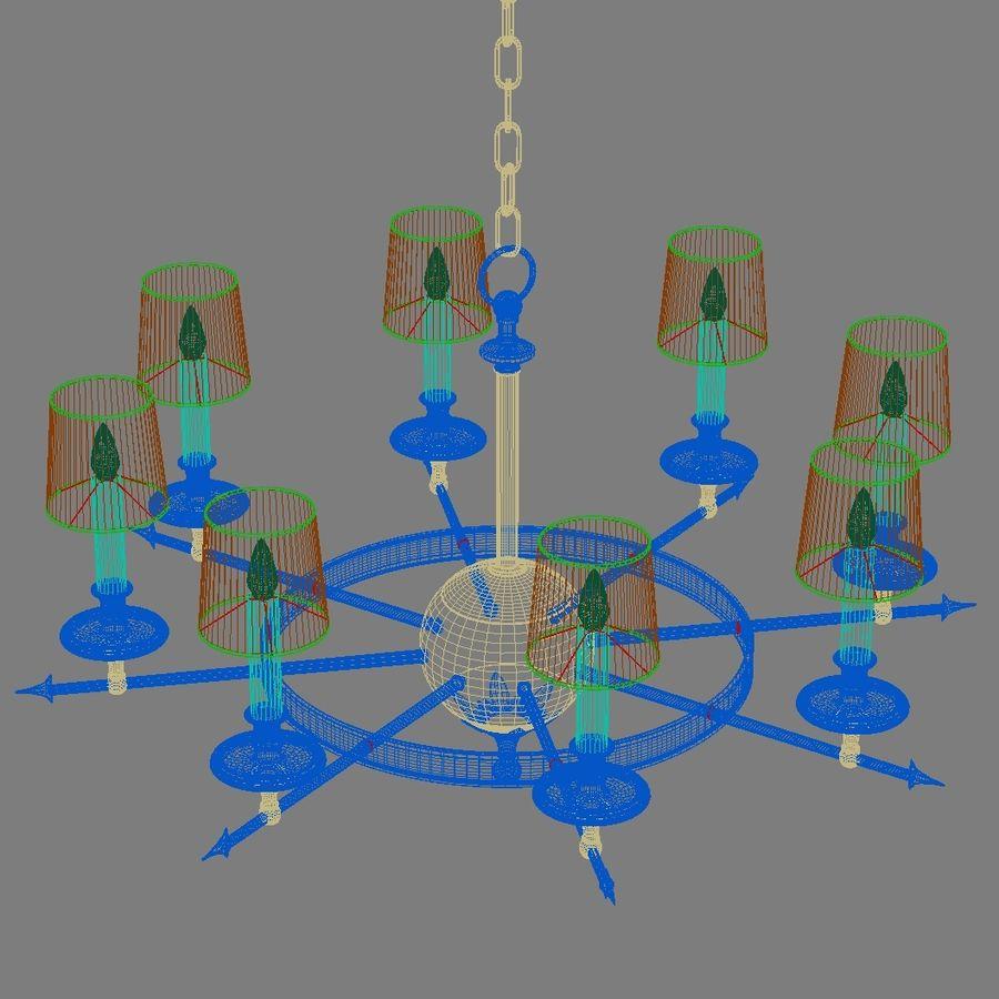 arrow chandelier 3d model