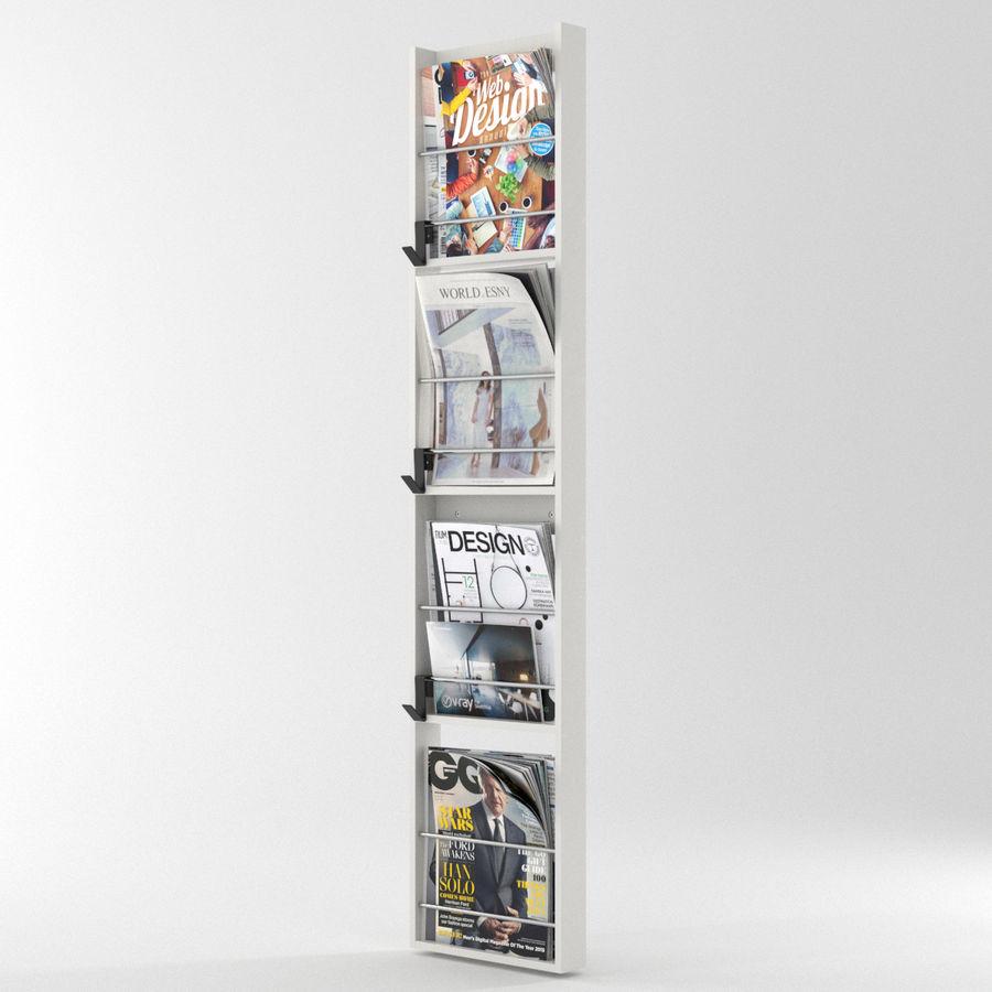 modern magazine rack 3d model 49