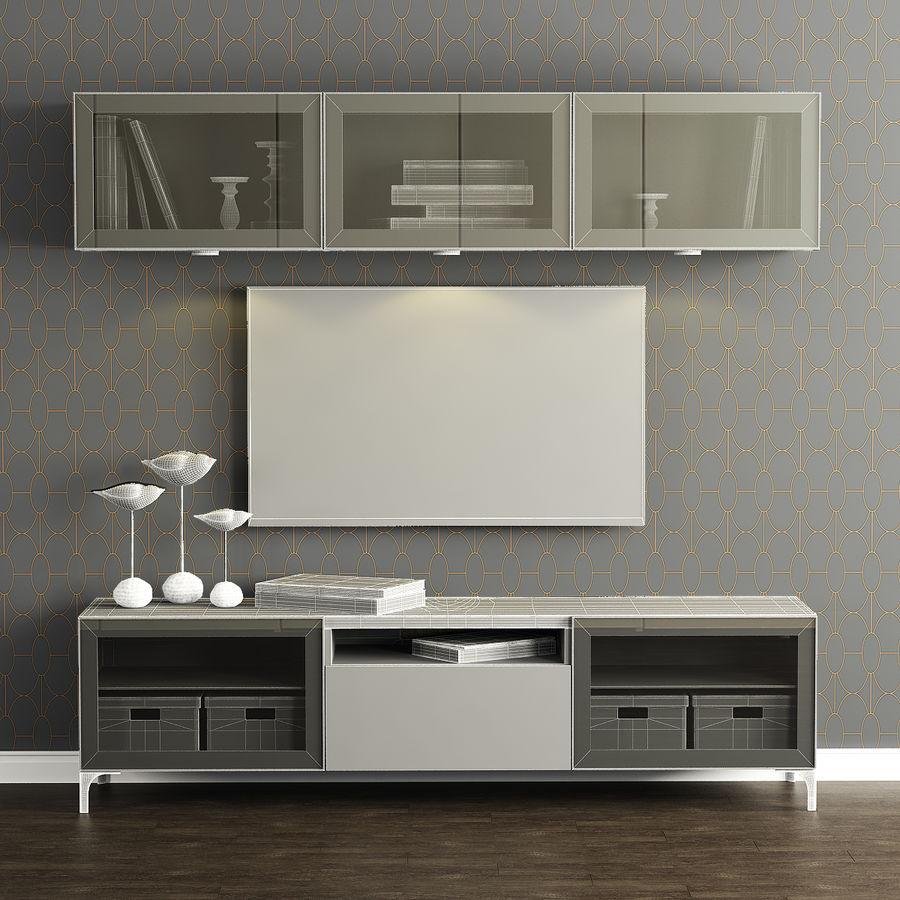 combinaison meuble tv ikea besta modele
