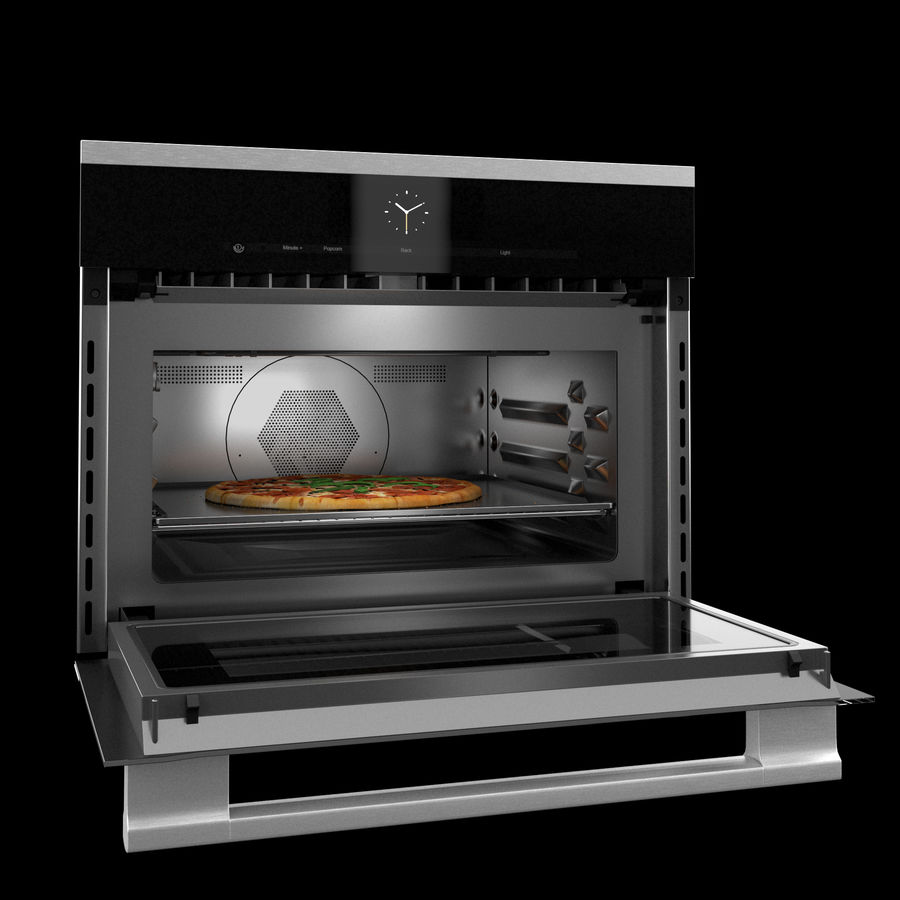 miele h6000bm microwave pizza 3d