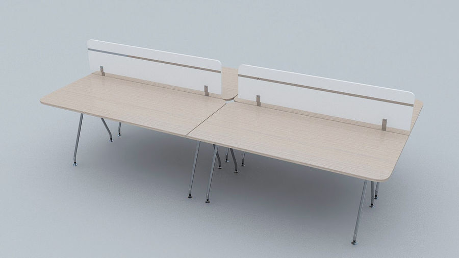 Ikea Style Modern Office Table Furniture 3d Model 1 Max Free3d