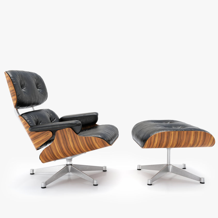 The power couple helped create some of the most defining architecture and styles in the 20th century. Vitra Lounge Chair Ottoman Charles Ray Eames 3d Model 39 Max Obj Free3d