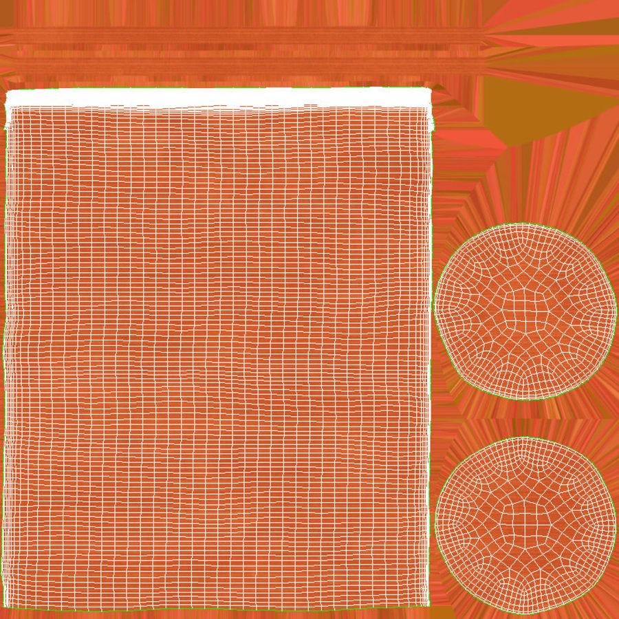 bolster cushion 03 red 3d model 29