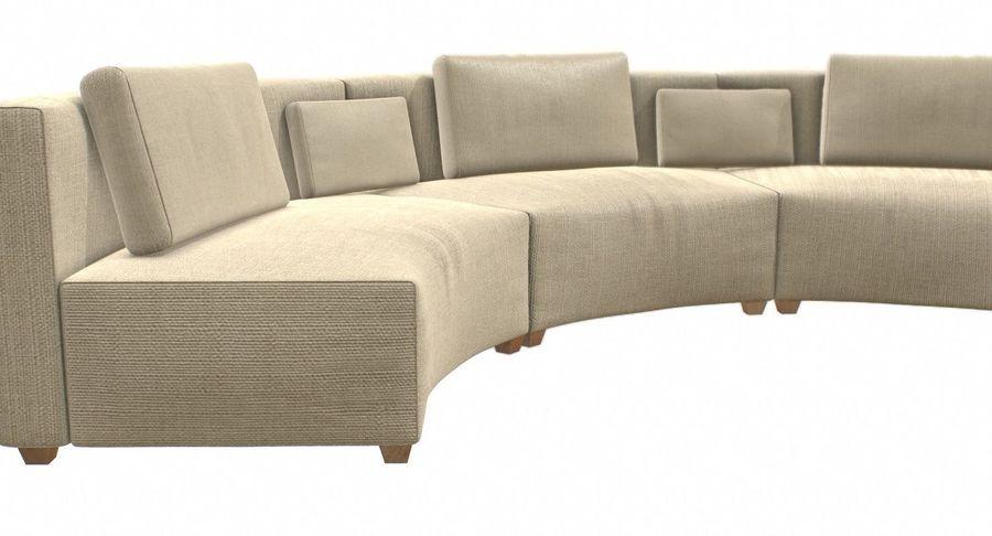 circular sofa 3d model 29 c4d fbx