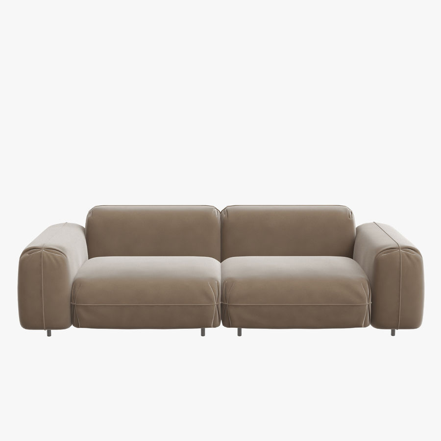 tokio soft sectional modular leather
