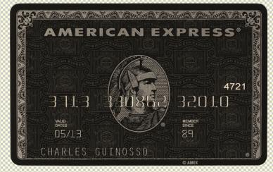 AMEX Card psd template