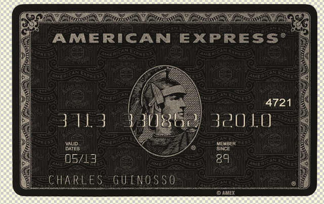 AMEX Card psd template