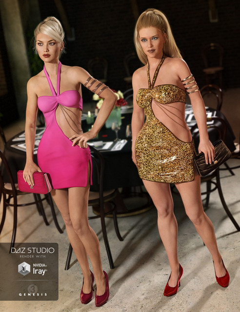 Club Night Out Outfit Textures [NO DIM]