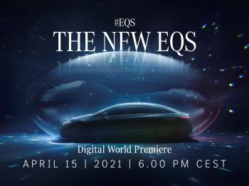 EQS World Premiere on Mercedes me media – digital launch of the progressive electric saloon