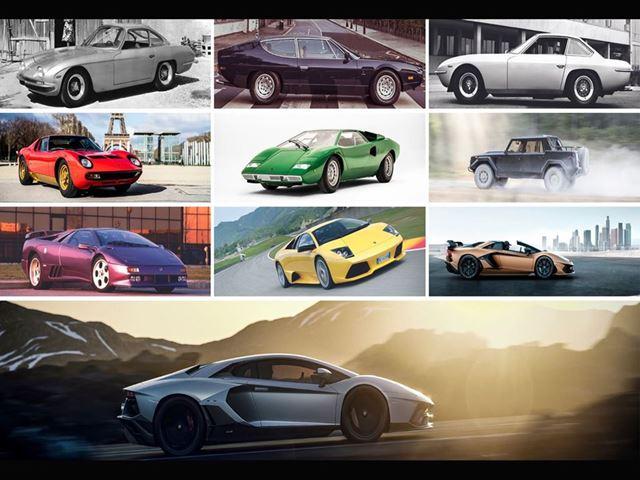 The History of Aventador