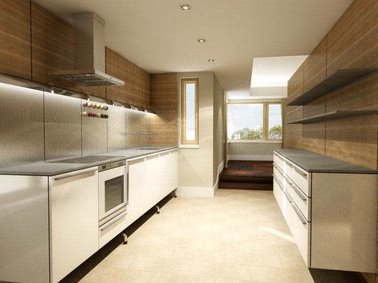 3d modern kitchen model on Modern Model Kitchen  id=68741