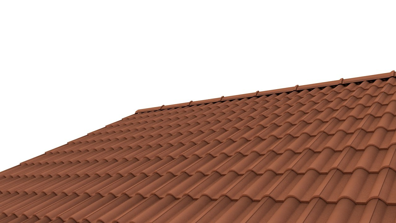 roof tile 3d c4d on Tile Models  id=92211