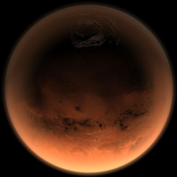 3d c4d mars planet