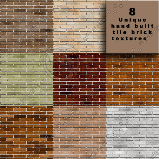 Brick Map Texture Alpha