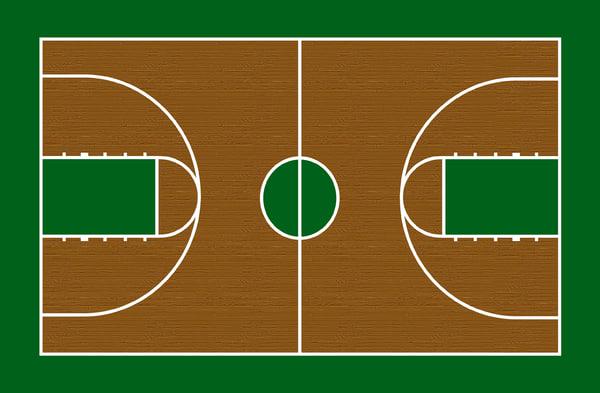 Width Basketball 2019 Court