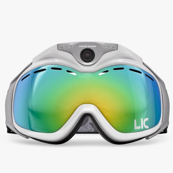 liquid image goggle mask 3d obj