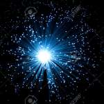 Close Aerial View Of An Illuminated Fibre Optic Light Lamp With Stock Photo Picture And Royalty Free Image Image 6549719