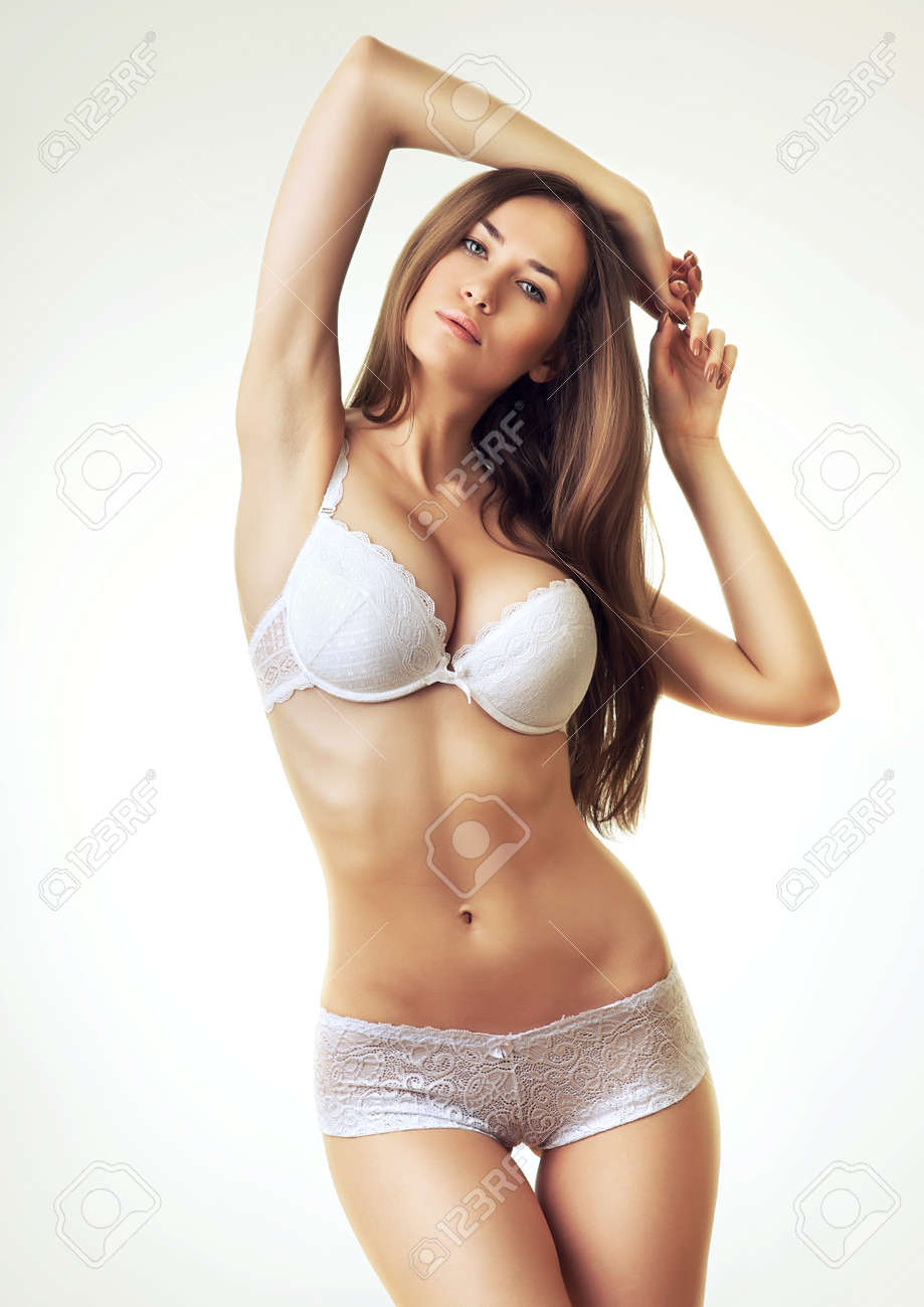 Sexy Hot Woman In Lingerie Stock Photo 33158453