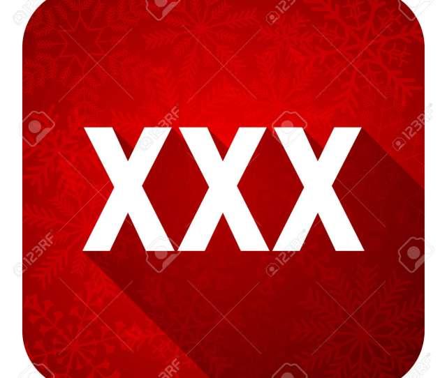 Stock Photo Xxx Flat Icon Christmas Button Porn Sign