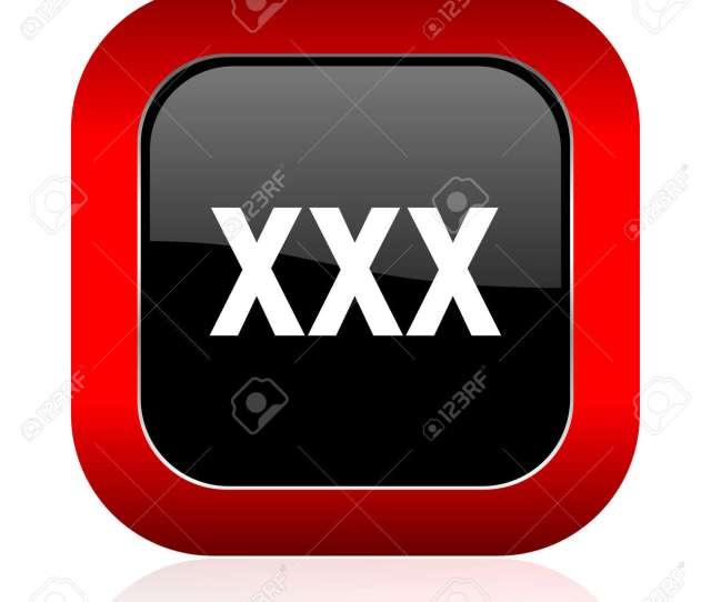 Stock Photo Xxx Icon Porn Sign
