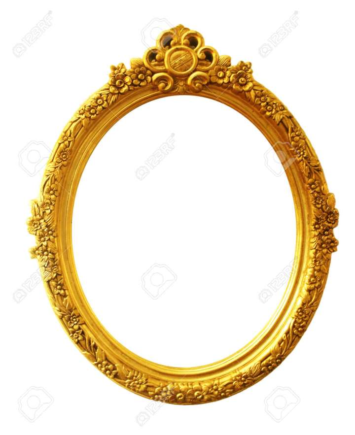 Old Antique Oval Picture Frames | secondtofirst.com