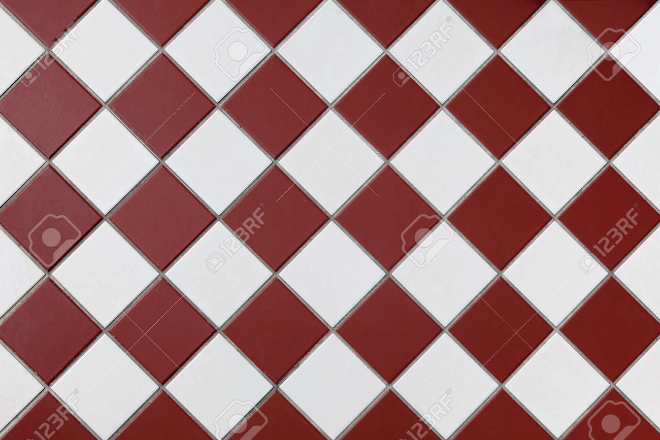 brown and white checkered floor tiles background image texture