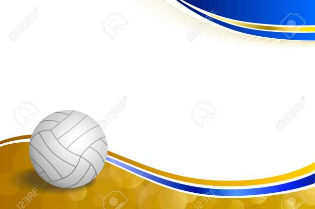 fb0456d9386f Background Abstract Sport Volleyball Blue Yellow Ball Frame