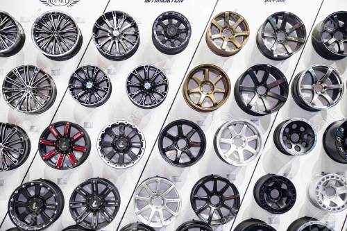 NONTHABURI - DESEMBER 4 :Alloy Wheels By LENSO On Display At.. Stock Photo, Picture And Royalty Free Image. Image 34444820.