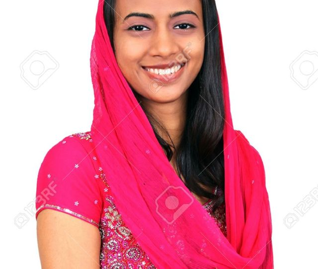 Beautiful Young Indian Girl Stock Photo