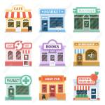 Shop Front Design Ideas Collection Retail Storefront Facade Royalty Free Cliparts Vectors And Stock Illustration Image 79584897