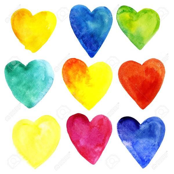 hearts colors # 5
