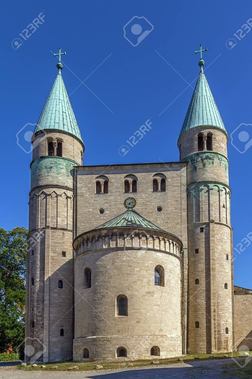 St Cyriakus Is A Medieval Church In Gernrode Saxony Anhalt Stock Photo Picture And Royalty Free Image Image 37402182