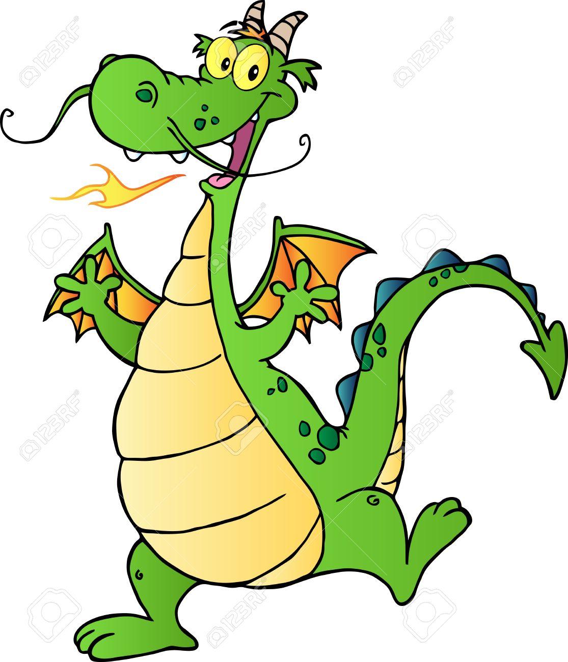 Resultado de imagen de dragón dibujo animado