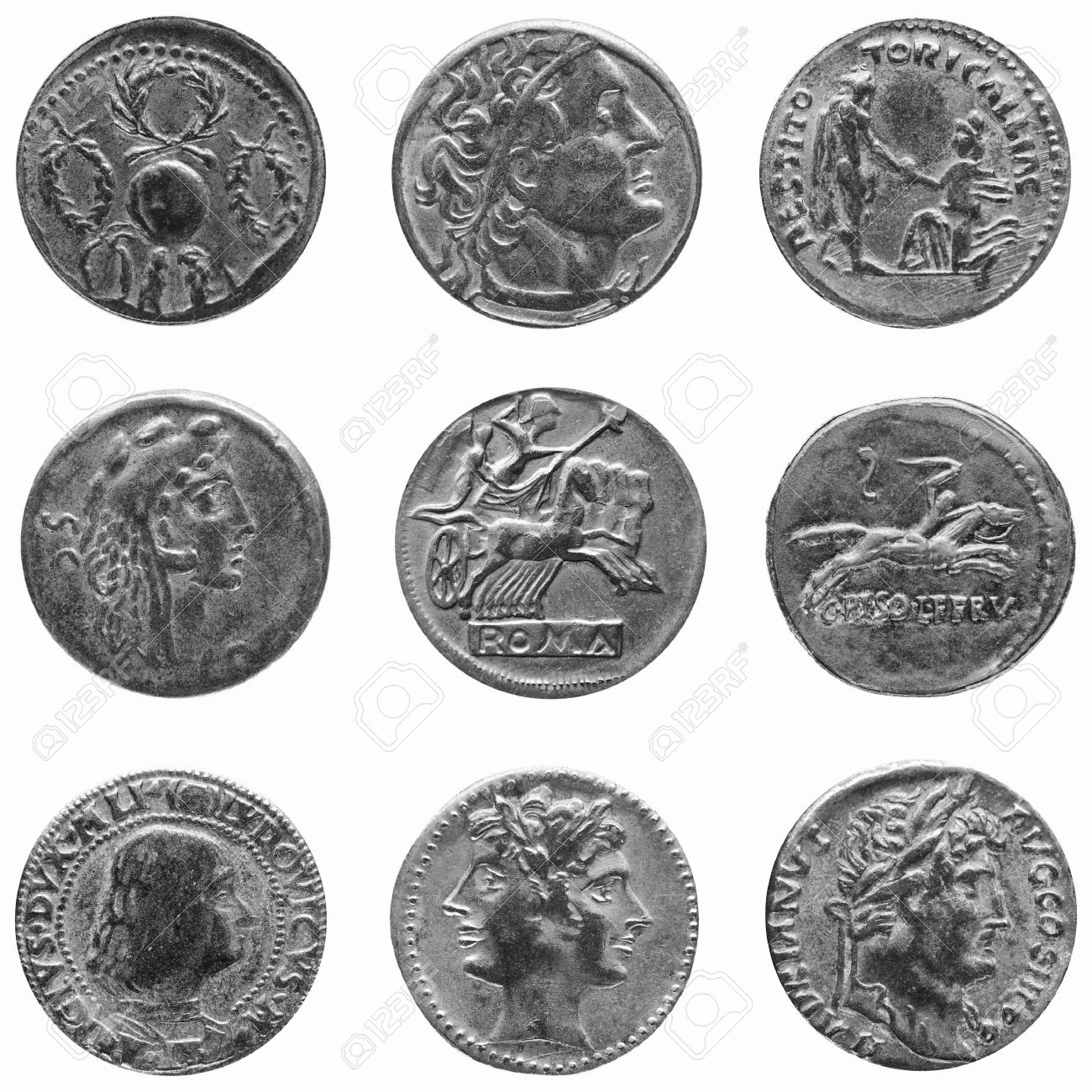 Image result for roman coins