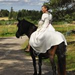 Princess Bride Riding On A Horse Wedding Stock Photo Picture And Royalty Free Image Image 14578282