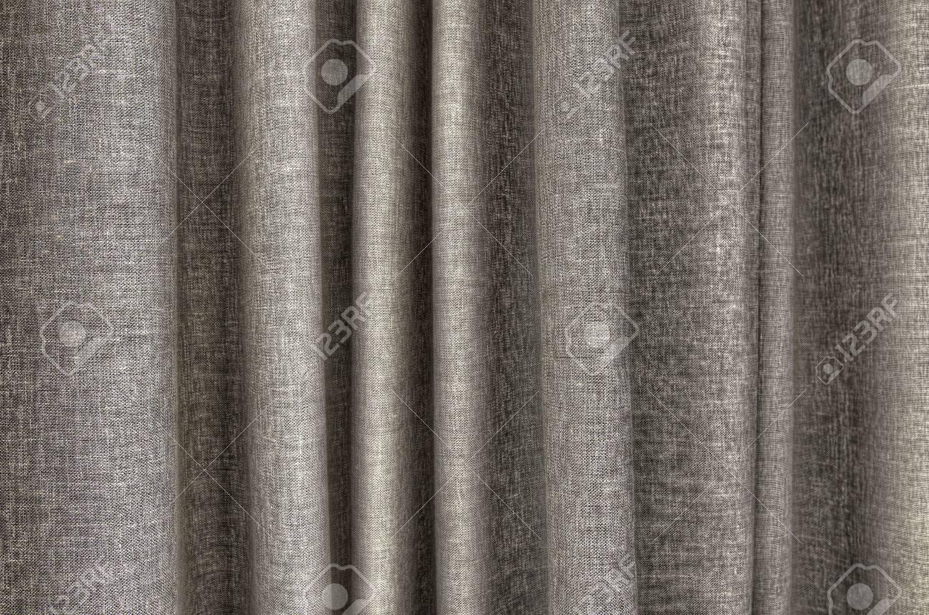 agrandi detail de couleur taupe rideau texture
