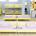 Modern Kindergarten Bedroom With Small Bunk Beds With Stairs Stock Photo Picture And Royalty Free Image Image 53572336