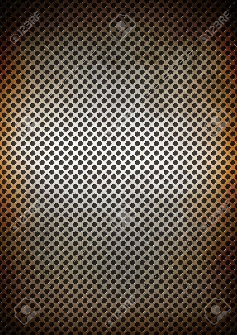 argent rouille grille metallique texture de fond d ecran