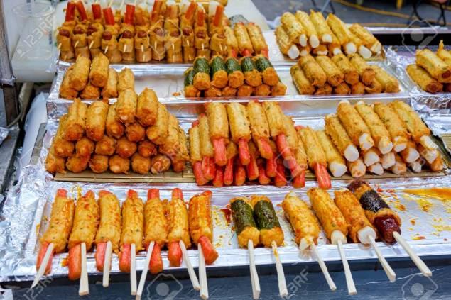 Resultado de imagen de korean street food