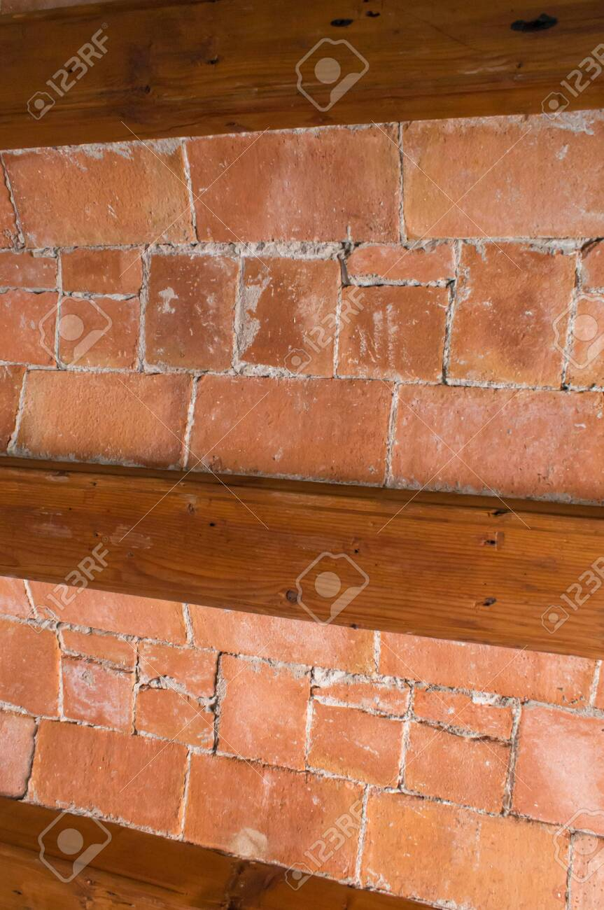 Exposed Brick Wall In A House In Barcelona Stock Photo Picture And Royalty Free Image Image 135553162