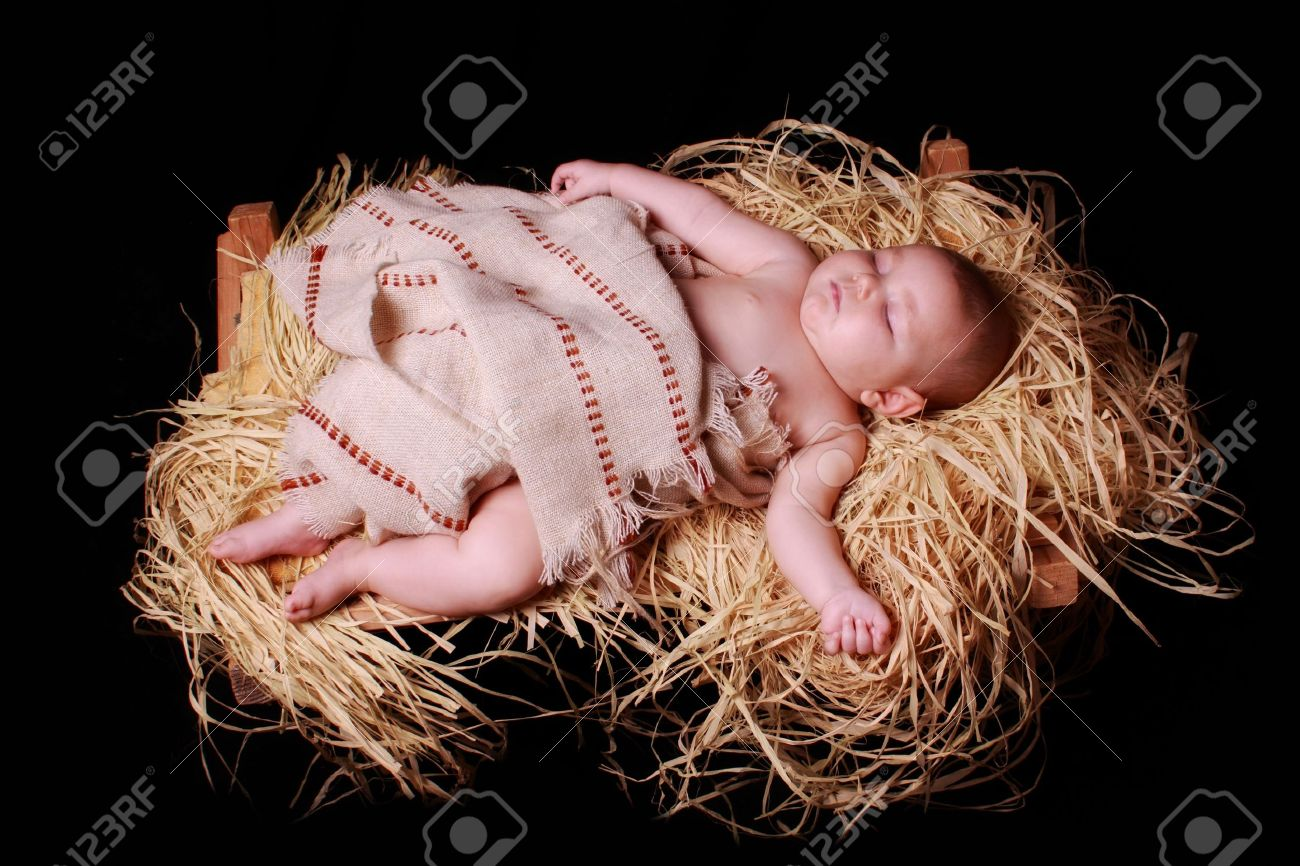 Image result for baby jesus in the manger