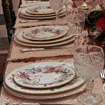 A Nice Dining Table Set For Christmas Dinner Stock Photo Picture And Royalty Free Image Image 687967
