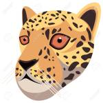 Leopard Portrait Made In Unique Simple Cartoon Style Head Of Royalty Free Cliparts Vectors And Stock Illustration Image 137338061