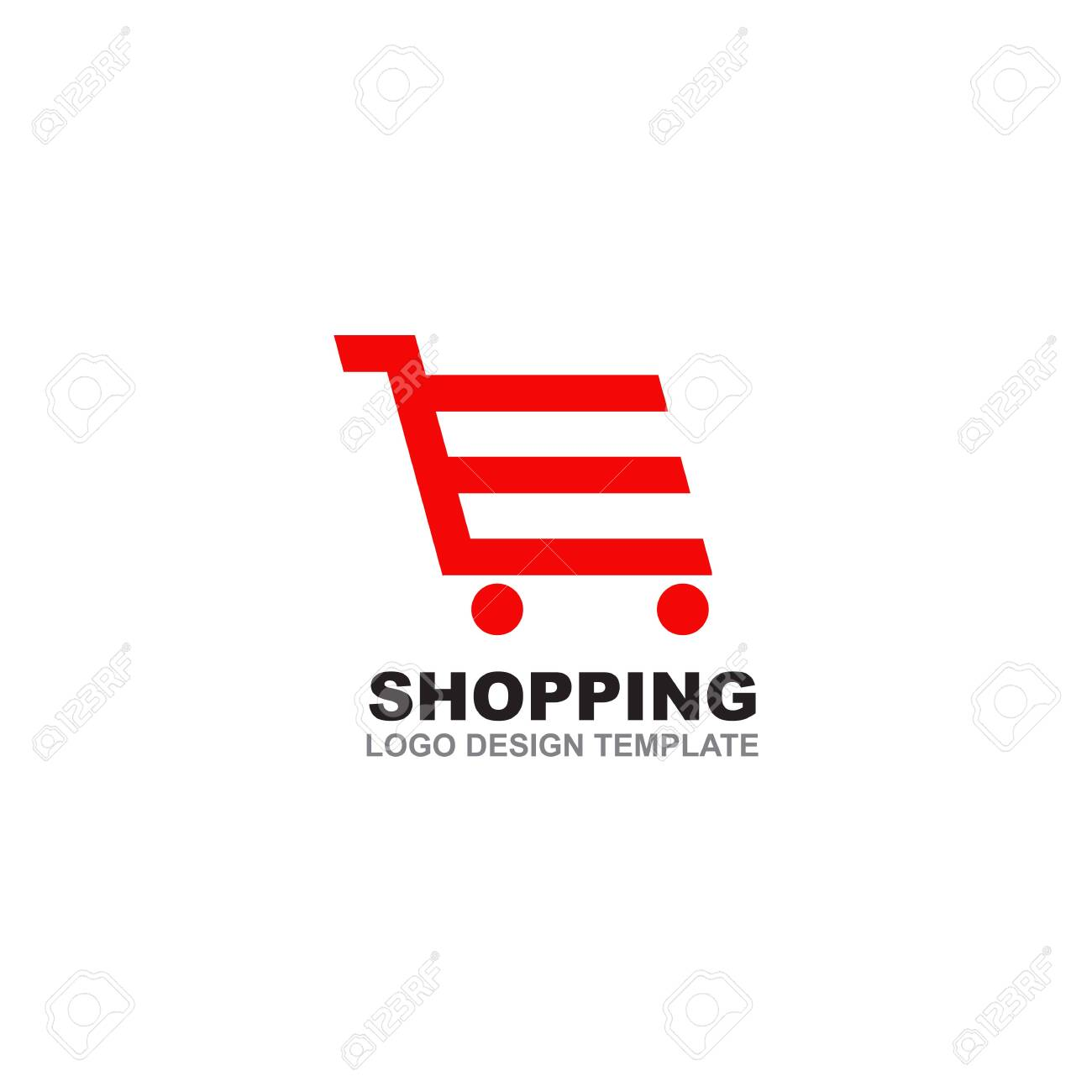 Demo view for each shopping cart themes design is realized on the. Shopping Cart Logo Design Inspiration Vector Template Royalty Free Cliparts Vectors And Stock Illustration Image 128040286