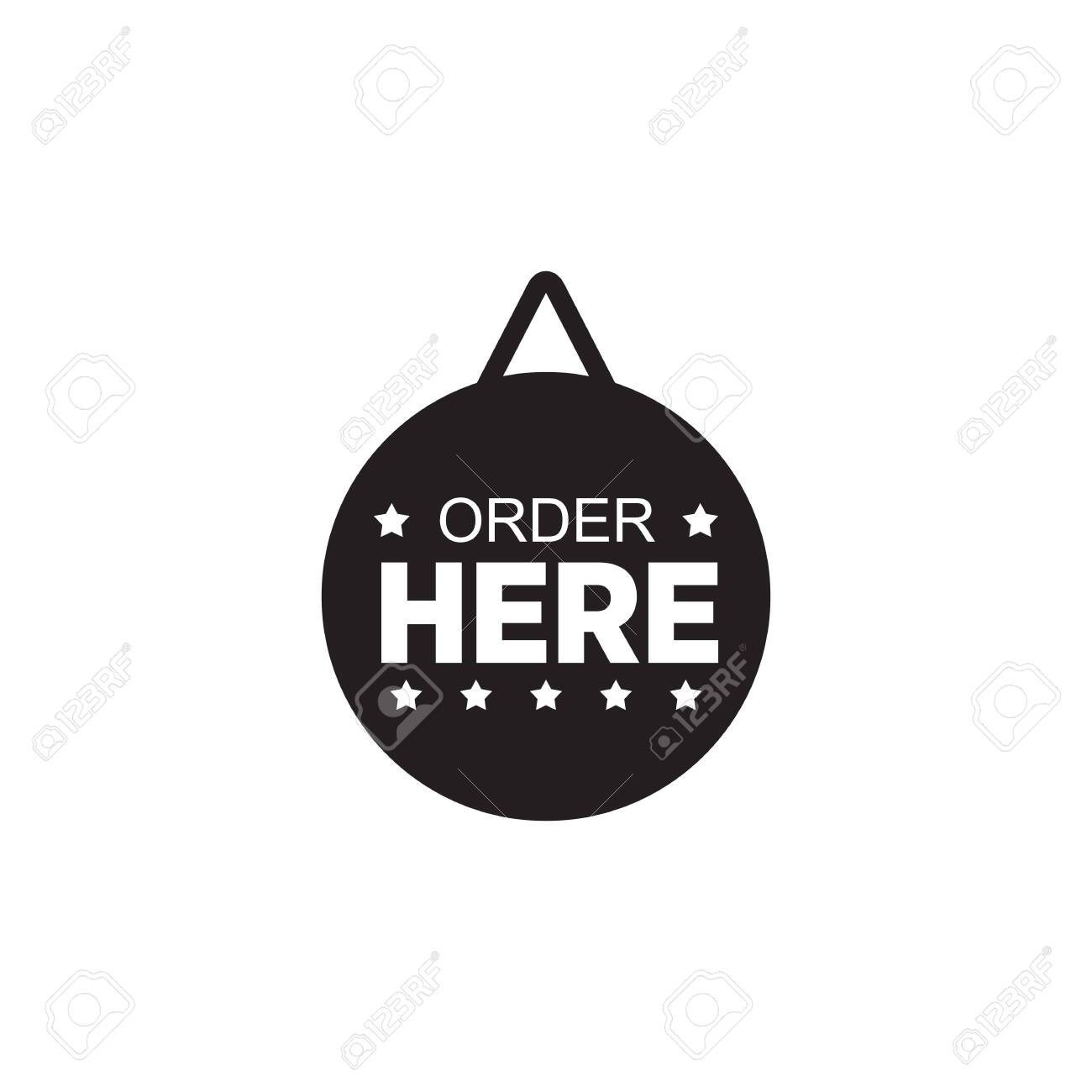 Out of order sign, free to print. Order Sign Logo Design Vector Template Royalty Free Cliparts Vectors And Stock Illustration Image 146537513